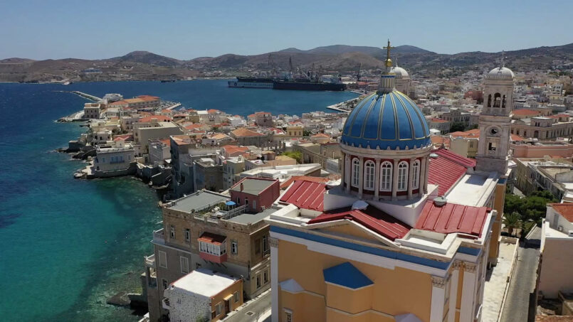 12 reasons for digital nomads – remote workers to choose Syros island